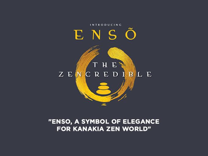 Enso, a symbol of elegance for Kanakia Zen World