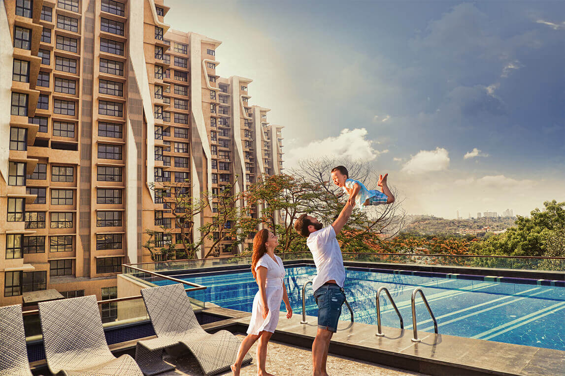 Kanakia Rainforest - Ongoing Residential Project  Andheri