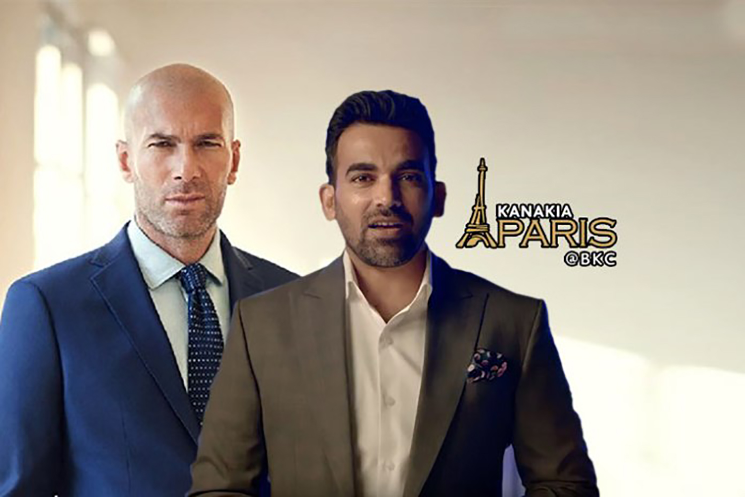 Zidane, Zaheer shoots for promotional video